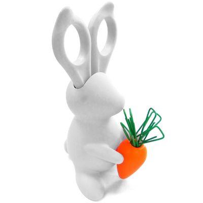 Bunny Desk Organiser - Scissors and Paper Clips Holder