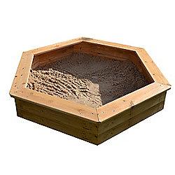 1.2m Hexagonal Sandpit