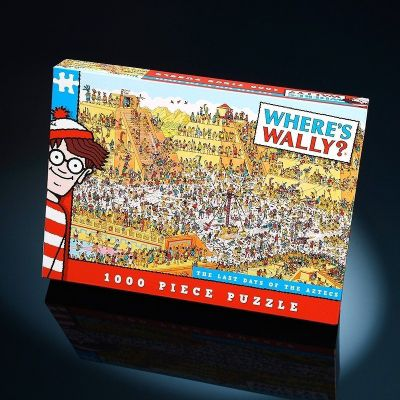 Wheres Wally - Last Day of the Aztecs Puzzle