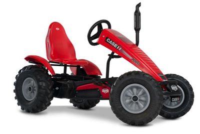 Pedal Go Kart - Red Off Road Go Kart - BERG Case-IH