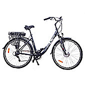 Cyclamatic Gte Pro Step-Through Alloy Electric Ebike W/ Lithium-Ion Battery