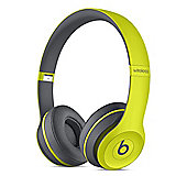 Beats by Dr. Dre Solo2 Active Collection Wireless Headphones - Shock Yellow