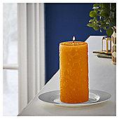 Fox & Ivy Orange & Cinnamon Scented pillar
