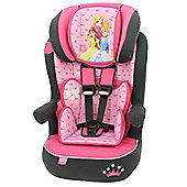 Disney Imax SP High Back Booster Car Seat with harness Group 1-2-3 Princess