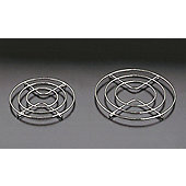 Metaltex Round Trivet, Chrome