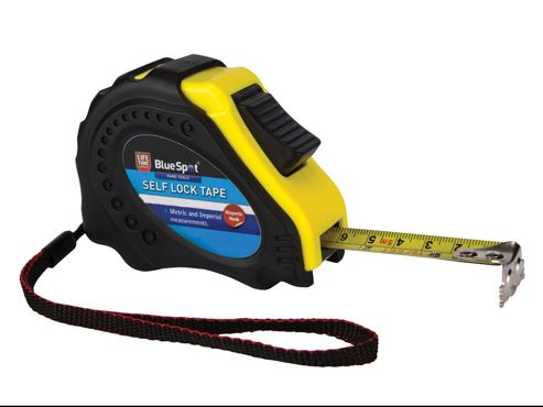 Blue Spot Tools Easy Read Magnetic Pocket Tape 7.5m/25ft (Width 22mm)