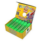 Playcolor Basic One 10g Solid Poster Paint Stick (Pack of 12 - Light Green)
