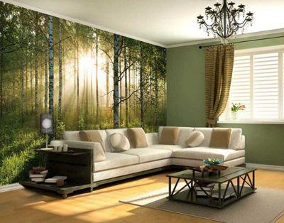Forest Wallpaper Wall Mural 232 x 315 cm