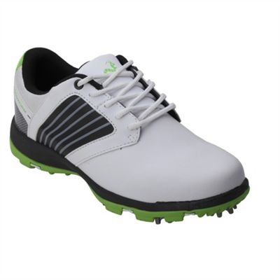 Woodworm Player 2.0 Golf Leather Shoes White/Neon 7