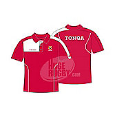 Kukri Tonga RWC 2015 Polo Shirt - Red