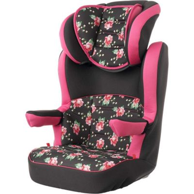 OBaby Group 2-3 High Back Booster Car Seat (Grey Rose)