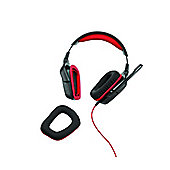Logitech G230 Stereo Gaming Headset: 32 Ohms 20Hz-20KHz 90dB