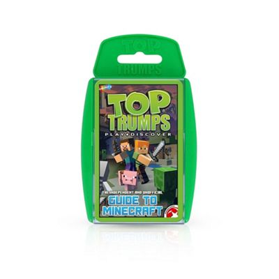 Top Trumps The Independent and Unofficial Guide to Minecraft Card Game