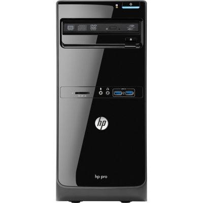 HP Pro 3500 Microtower PC Core i5 (3470) 3.2GHz 4GB 500GB DVD Writer SM LAN Windows 7 Pro 64-bit + Media Upgrade to Windows 8 Pro (HD Graphics 2500)