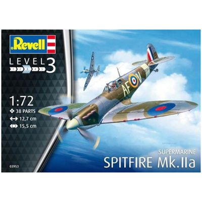 REVELL 03953 Spitfire Mk.IIa 1:72 Aircraft Model Kit