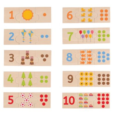 Bigjigs Toys Number Tiles - Learn to Count
