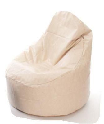 Kaikoo Faux Leather Ezee Chair Cream