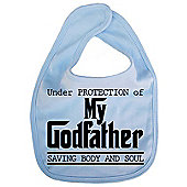 Dirty Fingers Under protection of my Godfather Bib Blue