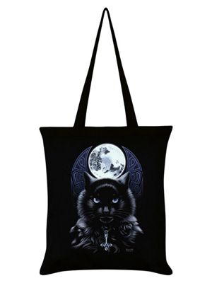 Requiem Collective The Bewitching Hour Black Tote Bag 38x42cm