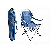 Summit Ultimate Padded Relaxer Chair Blue