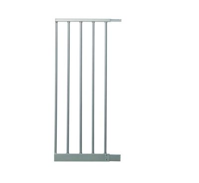 28CM Gate Extension SILVER - For Safety Gate F870S - F873S - Dreambaby