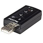 StarTech.com USB audio adapter - virtual 7.1 - external sound card - stereo audio