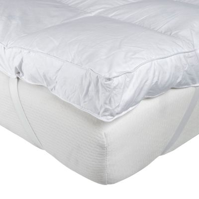 Homescapes Goose Feather Bed King size Mattress Topper