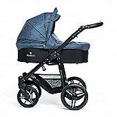 Venicci Soft 3 in 1 Travel System - Denim Blue/Black
