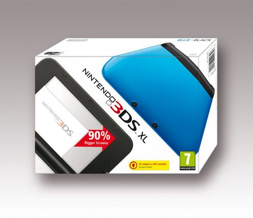 Nintendo 3DS XL Black/Blue