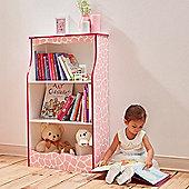 Teamson Kids - Karlie Bookshelf - Giraffe (Pink)