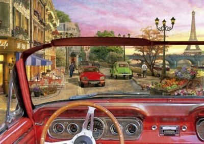 Paris in a Car - 1500pc Puzzle