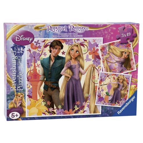 Ravensburger Rapunzel 3x49 Piece Jigsaw Puzzles