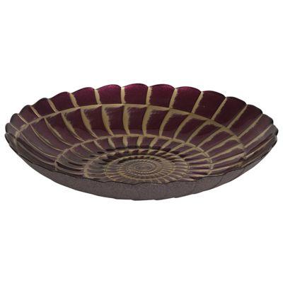 Grape & Gold Mirror Patina Memo Bowl