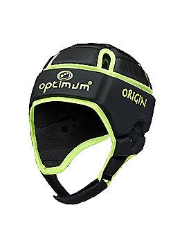 Optimum Junior Origin Headguard - Fluro/Black - Black