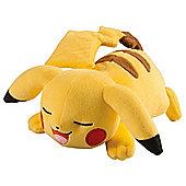 Pokemon Plush, Pikachu Sleeping Pose 8 inch
