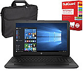 "HP 250 G5 - X0Q80ES#ABU - 15.6"" Laptop With BullGuard Internet Security & Case"