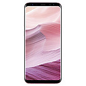 Tesco Mobile Samsung S8 Plus Pink