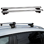 Fifth Gear 120cm Heavy Duty Aluminium Lockable Universal Roof Bars