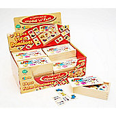 Traditional wood 'n' fun 28 pcs Farm Dominoes for 3 yrs+