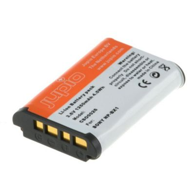 Jupio Replacement Barrtery for Sony NP-BX1 Cameras