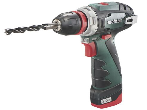 Metabo PowerMaxx BS Quick Basic Drill Driver 10.8V 2 x 2.0Ah Li-Ion