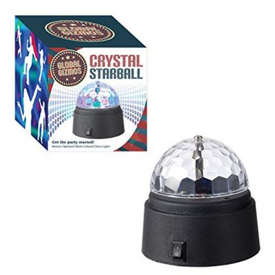 Global Gizmos Crystal Star Ball Disco Light