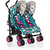 Cosatto Supa Dupa Go Twin Stroller (Happy Campers)