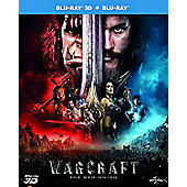 Warcraft 2D + 3D Blu-ray