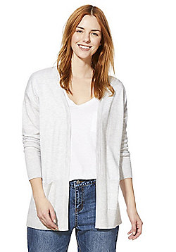 F&F Open Front Cardigan - Grey