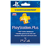 PlayStation Plus 12 Month Membership (PSN)