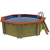 Plastica Octagonal Wooden Pool 4m Knightsbridge