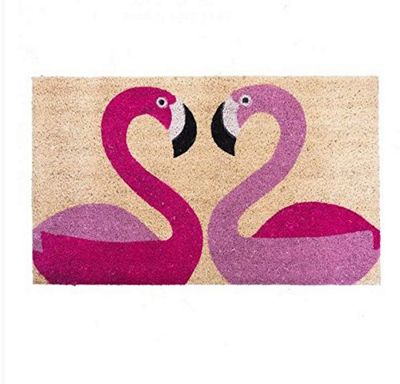 Bombay Duck Flamingoes Door Mat Rug 75 x 45 cm