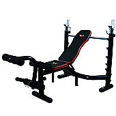 We R Sports BenchXPower 2 Premium Heavy Duty Weight Bench BLACK-RED