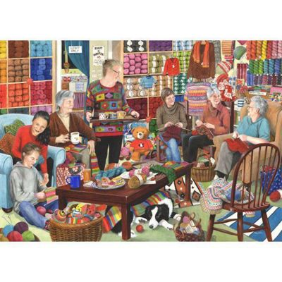 Knit And Natter Puzzle